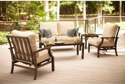 Set with Beige Cu contemporary-patio-furniture-and-outdoor-furniture