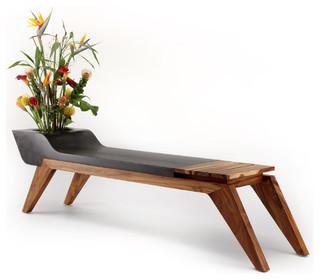 modern indoor benches