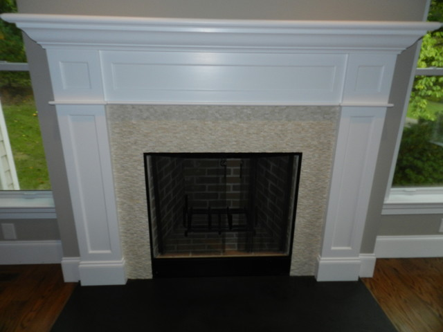 Bryn Mawr, New construction traditional-living-room