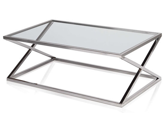Novak Rectangular Coffee Table - For more information: