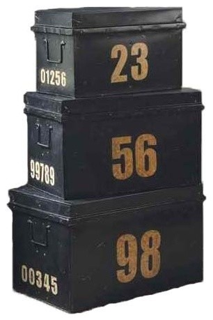 contemporary storage boxes by The Paris Market