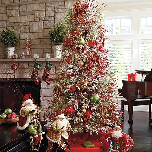 Glad Tidings Decor Kit With 9' Eastern Fir Tree