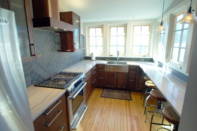 Orange Street: Media, PA modern-kitchen