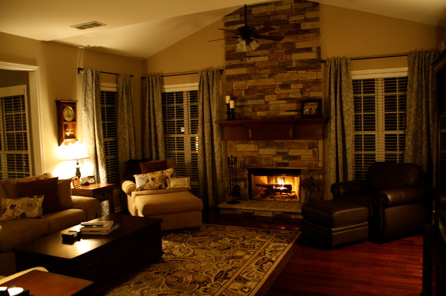 Fireplace Remodel traditional-indoor-fireplaces