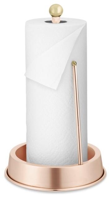 Copper Paper Towel Holder Contemporary Paper Towel
