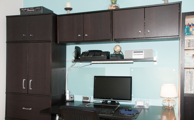 Storage Solutions Modern Home Office New York By
