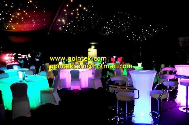 2013 Modern Led Light Up Bar Table modern-bar-tables