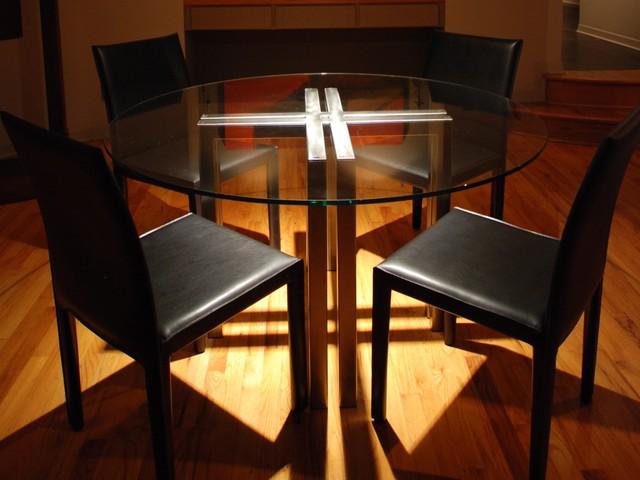 CROSS Table by Sarabi Studio Austin, TX modern-dining-tables