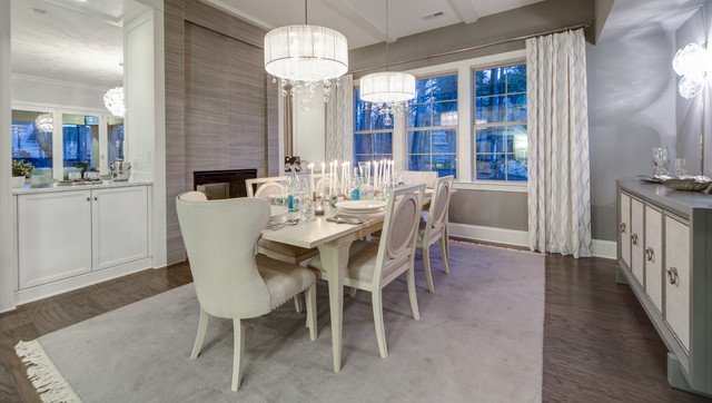 The Carmel by Classica Homes modern-dining-room