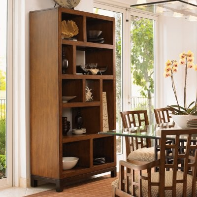 Tommy Bahama by Lexington Home Brands Ocean Club Tradewinds Bookcase modern-bookcases