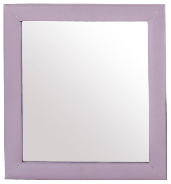 Standard Furniture Fantasia Accessories Kids' Mirror in Lavender (Set of 2) traditional-mirrors