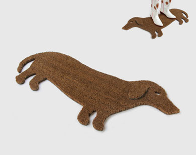 Good Dog Doormat eclectic doormats
