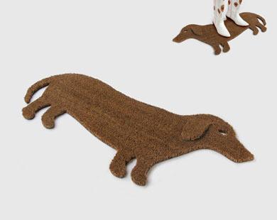 Good Dog Doormat eclectic-doormats