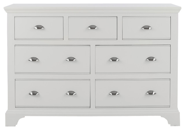 Downton Bedroom Furniture Chest 4 3 Drawers In Frost White Paint  Cheap  Drawers For Bedroom. Bedroom Drawers