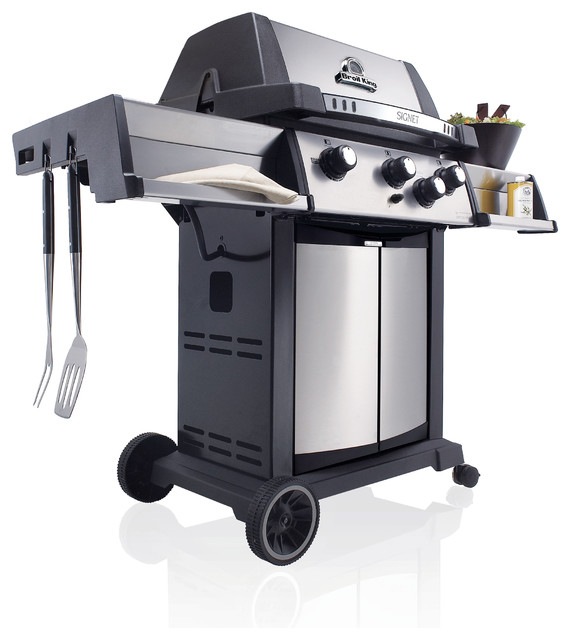 Signet 70 LP Gas Grill contemporary-outdoor-grills
