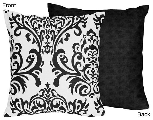 Isabella Decorative Accent Throw Pillow by Sweet Jojo Designs traditional-kids-bedding