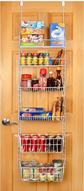 Large Deluxe Over-the-Door Pantry Organizer contemporary