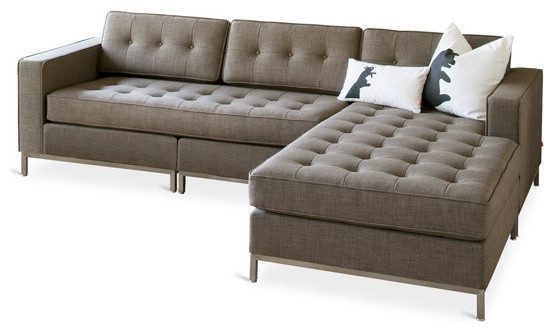 Jane Bi-Sectional, Laurentain Tundra contemporary-sectional-sofas