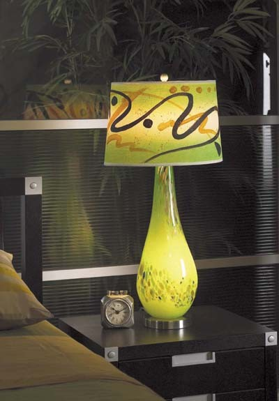 Lamp Ideas! eclectic-table-lamps