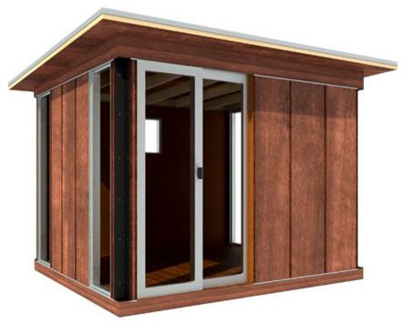 Modern Cabana contemporary-prefab-studios