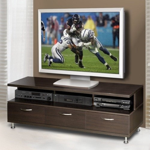"Eclipse 56"" TV Stand modern-home-electronics"