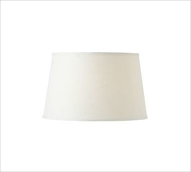 lamp shade small white traditional lamp shades by pottery barn. Black Bedroom Furniture Sets. Home Design Ideas