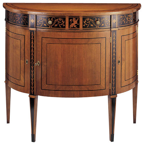 Louis XVI Inlaid Cabinet traditional-storage-cabinets