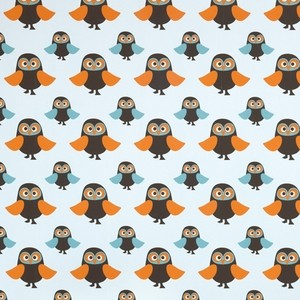 ferm LIVING Owls Wallpaper for Kids modern wallpaper