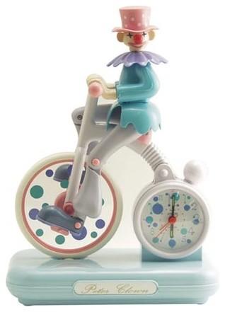 Peter Clown Alarm Clock eclectic-clocks
