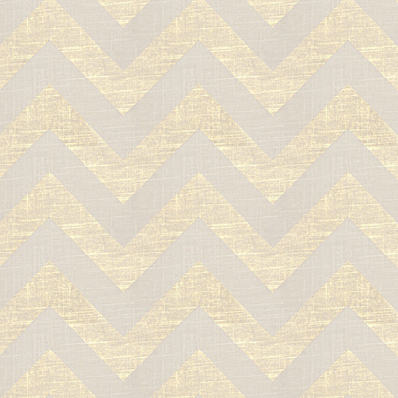 Gold Metallic & Ivory Chevron Fabric contemporary-upholstery-fabric