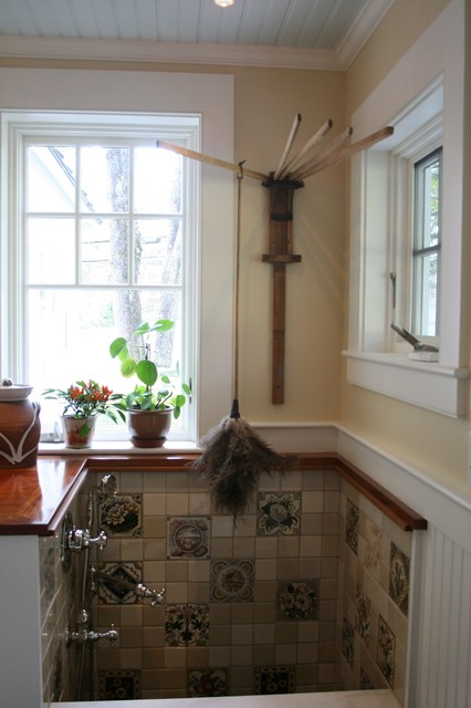 Ackerman Residence Renovation/Addition Norwich VT traditional-laundry-room