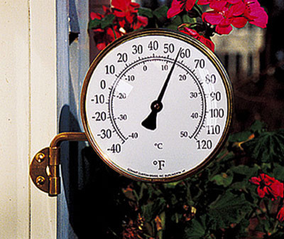 Outdoor Decor Thermometer Rumah Minimalis