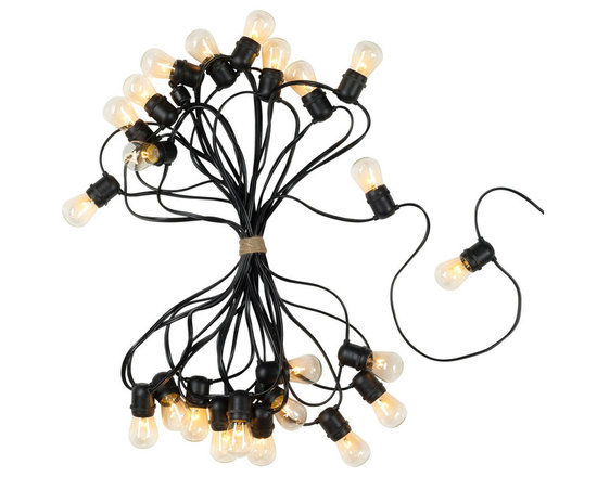 Rejuvenation: Exterior Outdoor Lighting - Our 50 foot string lights can light up a patio, deck, or tree branches, and will add a festive touch that lasts year-round.
