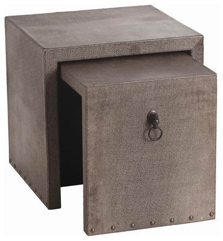 Equus 2 Piece Nesting End Table modern-indoor-pub-and-bistro-tables