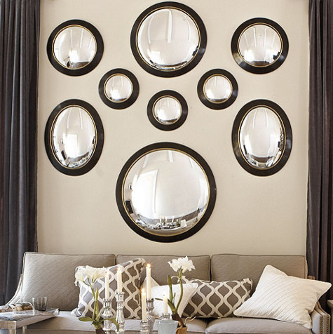 Alastair Convex Mirror traditional-mirrors