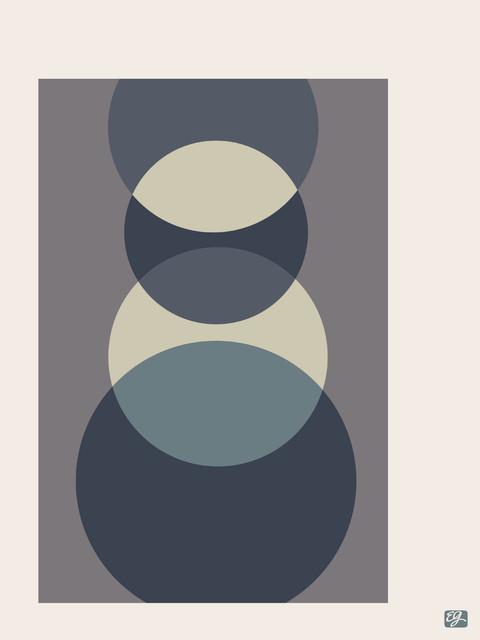 "Foureyes Print, Smoke, 11"" x 14"" midcentury-prints-and-posters"