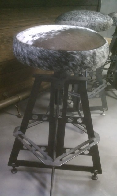 PlanksUSA Showroom in progress: The Bar eclectic-chairs