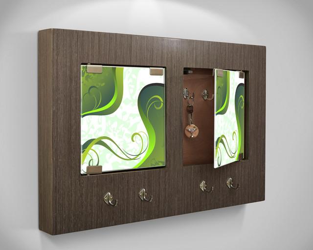 Modern Key Holder Wall Panel contemporary