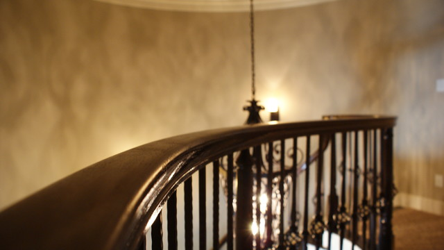 Modlin Homes traditional-staircase
