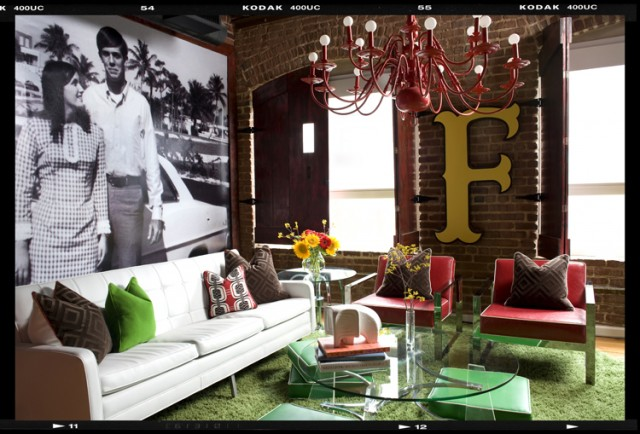Decor demon 39 s loft for Eclectic living room design ideas