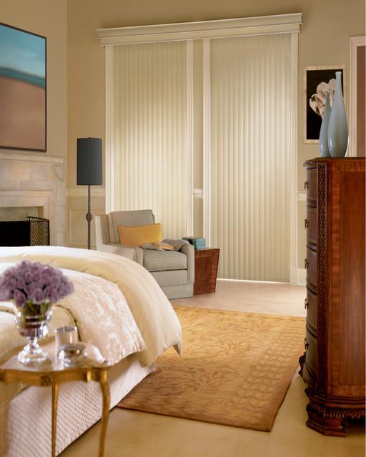 Somner® Custom Vertical Blinds with PermaTilt® Wand Control system eclectic-vertical-blinds