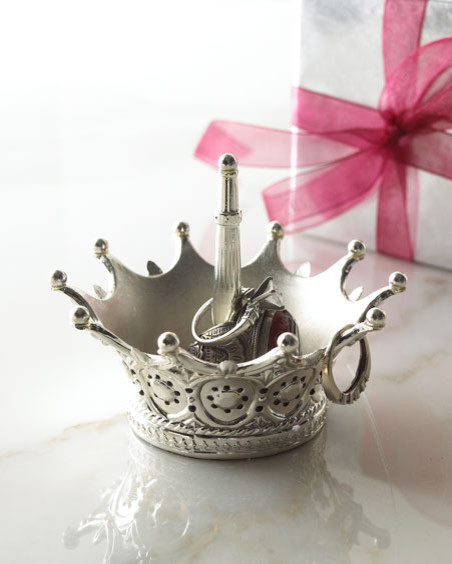 crown ring holder eclectic bathroom accessories by horchow