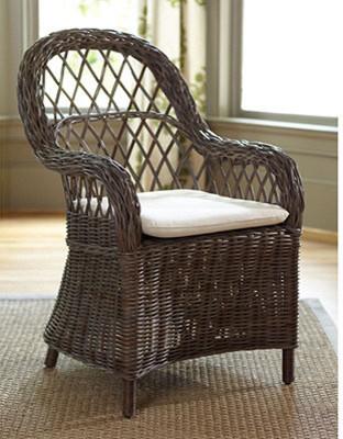 Malvern Dining Chair with Cushion by Ballard Designs ...
