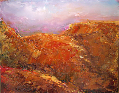 Rough Country (Original) by Kay  Reinke contemporary-originals-and-limited-editions