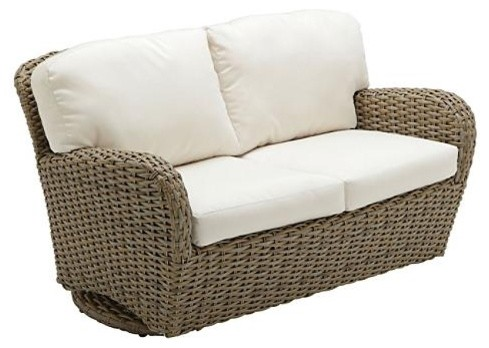 sunset deep seating outdoor loveseat outdoor glider with cushions - Garden Furniture Love Seat