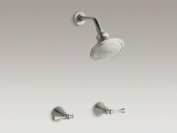 KOHLER Revival(R) shower faucet set with traditional lever handles and single-fu contemporary-showers