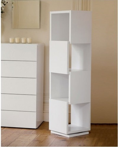 Shell Rotating Shelving Unit - Modern - Storage Cabinets ...