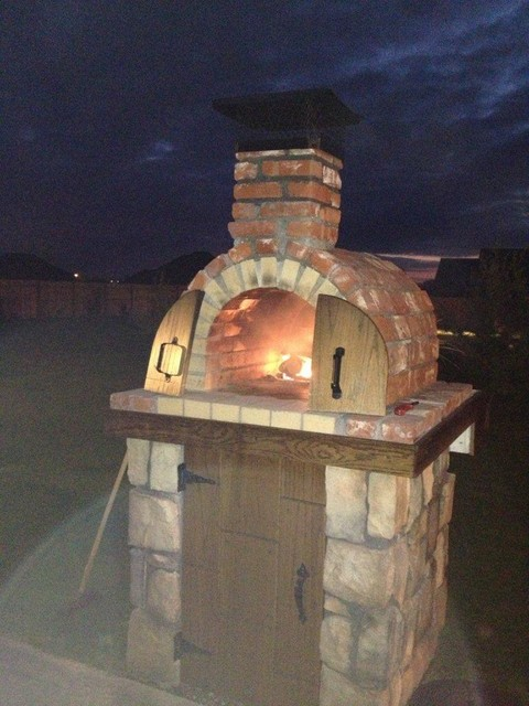 moon family diy wood fired pizza oven in oklahoma by brickwood ovens