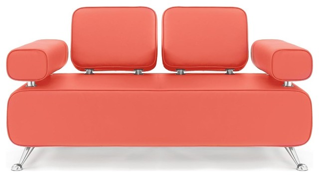 Split Back 2-Seater Sofa by Dauphin modern-sofas