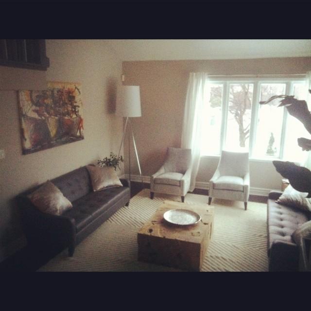 Brossard Renovation contemporary-living-room